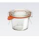 12 x 35ml Mini Tapered Weck Jars - 756
