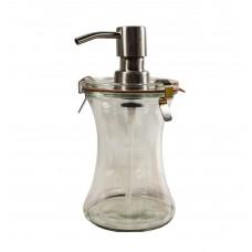 1 x 370ml Liquid Soap Dispenser Weck