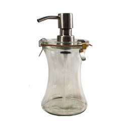 1 x 370ml Liquid Soap Dispenser Weck
