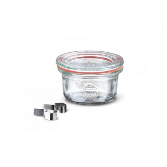 1 x 50ml Mini Tapered Jar - 755 Weck