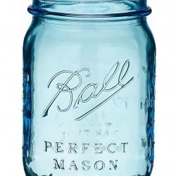 1 x  Blue Pint Jar Ball Heritage Collection SINGLE