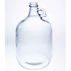 1 x Gallon Clear Glass Growler Jar  (Lid not included)