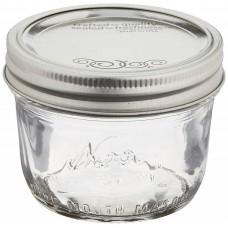 1 x Kerr Half Pint Wide Mouth Jar and Lid SINGLE