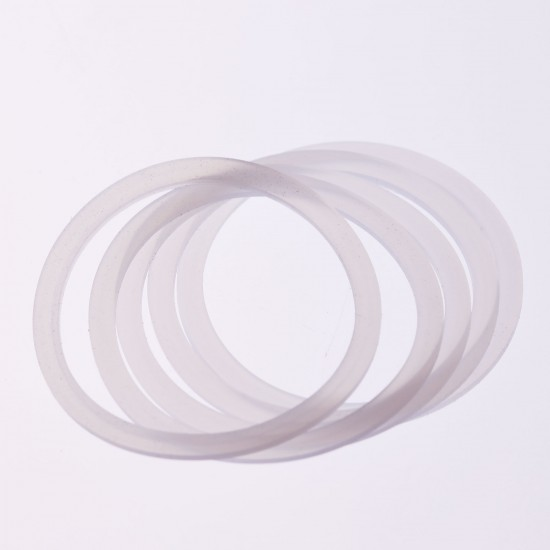 10 x Regular Mouth Silicone High Heat Seals Preserving Food Safe
