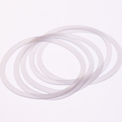 10 x Wide Mouth Silicone High Heat Seals Preserving Food Safe