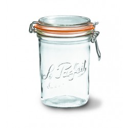 6 x 1000ml Le Parfait TERRINE jar with seal