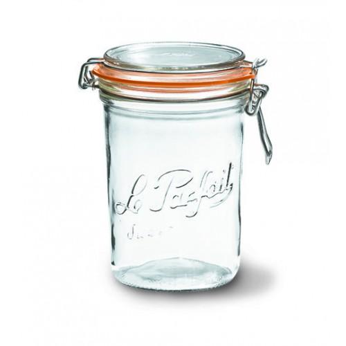 6 x 1000ml Le Parfait TERRINE jar with seal