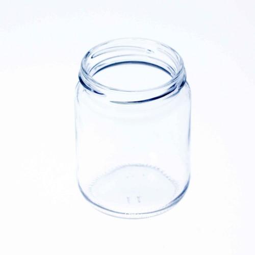105 x Pakezy 240ml Round Preserving, Jam, Honey, Chutney Jars - Lids not included