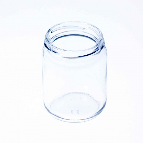 105 x Pakezy 240ml Round Preserving, Jam, Honey, Chutney Jars - Lids not included
