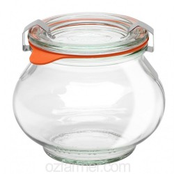 12 x 220ml Weck Deco Jars - 902 Weck