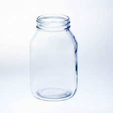 12 x Bell 32 oz Quart Smooth Regular Mouth Jars - Lids not included