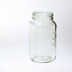 12 x Bell 770ml / 26oz Square Bell Jars Lids Not Included