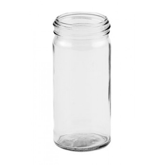 12 x Bell Paragon 4oz Glass Spice Herb Jars with optional lids