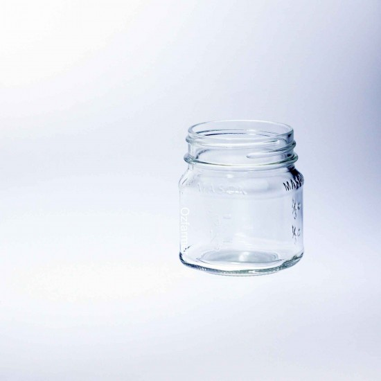 12 x Bell Square Half Pint / 8oz Regular Mouth Jars Lids Not Included