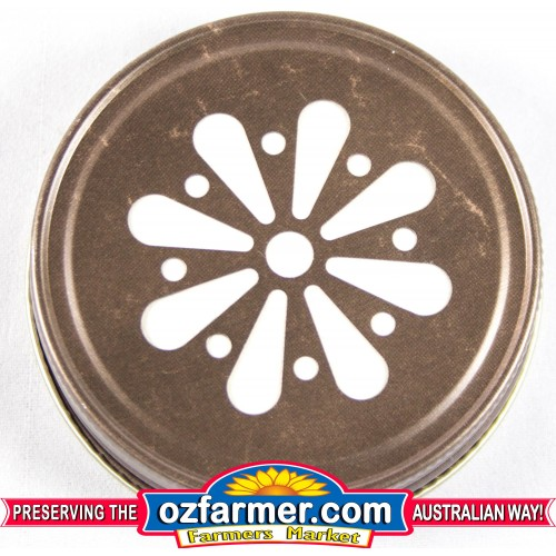 12 x USA Made Daisy Lid  Bronze