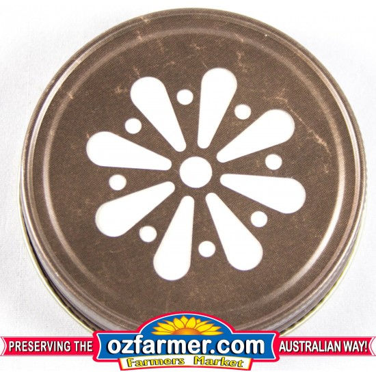 12 x USA Made Daisy Lid  Bronze