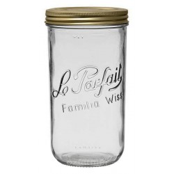 1500ml Le Parfait Familia Wiss Preserving Mason Jar