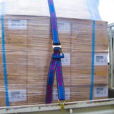 2,500kg break strength 50mm x 6m Heavy Duty Ratchet Tiedown Aerofast
