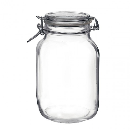 2 litre Bormioli Rocco Fido Swing Top Preserving  Jar
