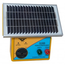 2.5km Solar Electric Fence Energiser with Battery