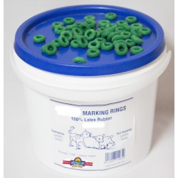 20 x Castration Rings For Lambs, Kids And Calves