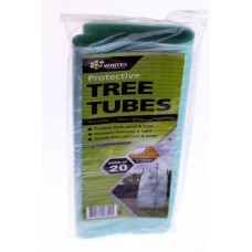 20 x Plastic Tree Guard Tree Protector Sleeve Tree Tube