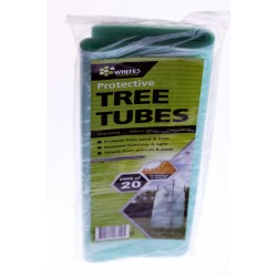20 x Plastic Tree Guard Tree Protector Sleeve Tree Tube