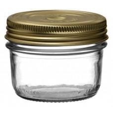 6 x 200ml Le Parfait Familia Wiss Preserving Mason Jars