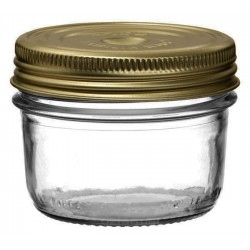 6 x 200ml Le Parfait Familia Wiss Preserving Mason Jars