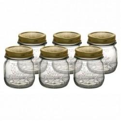 Bormioli Rocco Quattro Stagioni 250ml Preserving Glass Jar Bormioli Rocco