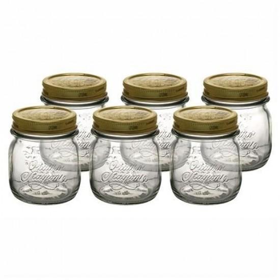 250ml Bormioli Rocco Quattro Stagioni Preserving Glass Jar