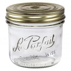 6 x 350ml Le Parfait Familia Wiss Preserving Mason Jars