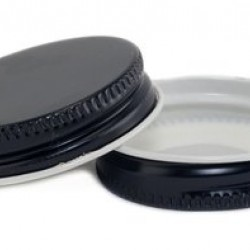 38mm SCREW TOP  CT Tin Lid with Food Safe Lining One Piece