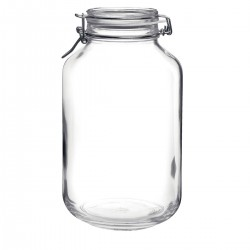4 litres Bormioli Rocco Fido Swing Top Preserving  Jar