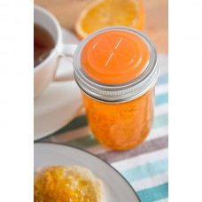 4 x Orange Fruits Lids Regular Mouth Jam Marmalade