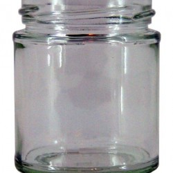 40ml Round Jam Jars x 90 - lids not included