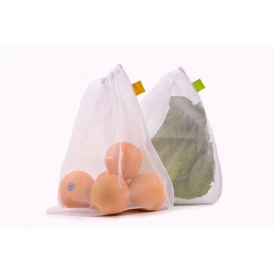 5 x Reusable Mesh Storage Bags