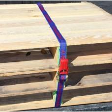500kg break strength 25mm x 5m Medium Duty Ratchet Tie-down Aerofast