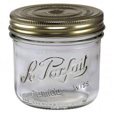 6 x 500ml Le Parfait Familia Wiss Preserving Mason Jars