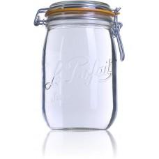 6 x 1000ml Le Parfait SUPER jar with seal