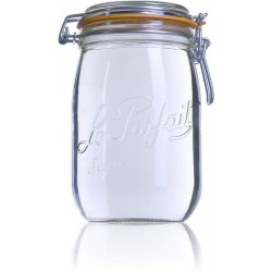 1000ml Le Parfait SUPER jar with seal