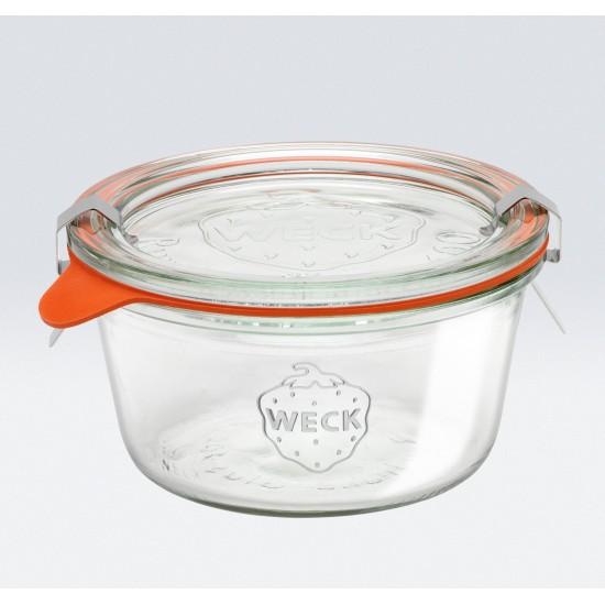 6 x 290ml Weck Tapered Jar (Short)- 740