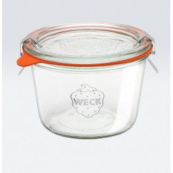 6 x 370ml Weck Tapered Jar - 741