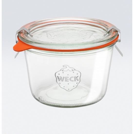 6 x 370ml Weck Tapered Jar - 741