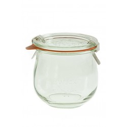 6 x 370ml Weck Tulip Jar- 746