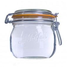 6 x 500ml Le Parfait SUPER jar with seal