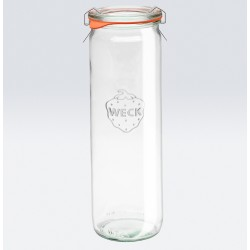 6 x 600ml Weck Cylinder Jar  - 905