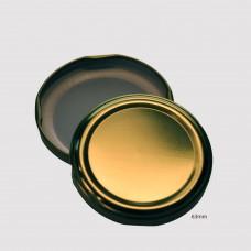 63mm TWIST TOP sauce bottle lids GOLD