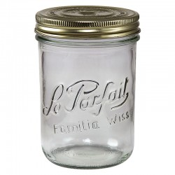 6 x 750ml Le Parfait Familia Wiss Preserving Mason Jars