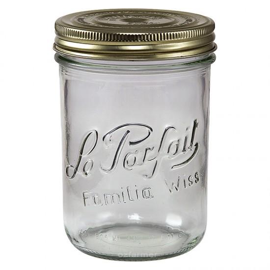 750ml Le Parfait Familia Wiss Preserving Mason Jar